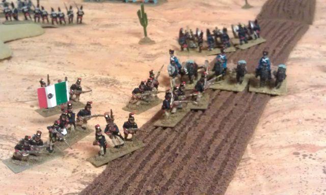 Santa Anna's Last Gasp - American Battlelines