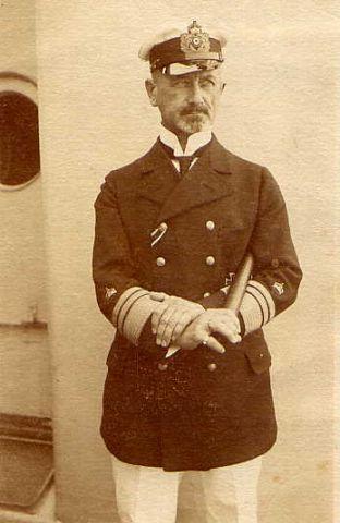 Rear Admiral Hubert Rebeur Paschwitz