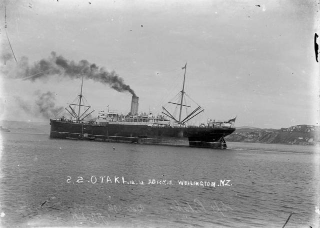 SS Otaki 1910