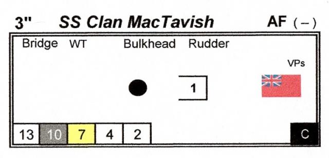 Ships Log Clan MacTavish