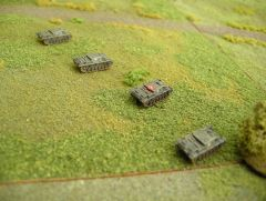Counter-attack at Horton Cross d