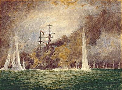 Hms warspite In trouble At windy corner jutland 31 L