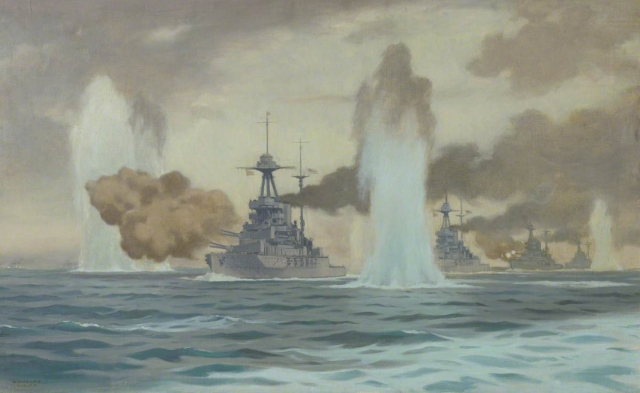 The Fifth Battle Squadron at the Battle of Jutland, 31 May 1916